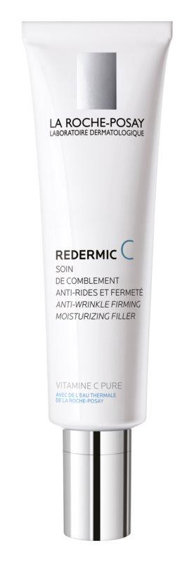 La Roche-Posay Redermic [C] dnevna in nočna krema proti gubam za suho kožo